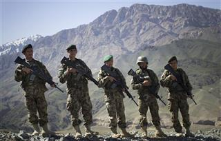 Afghanistan Afghan Army Unit