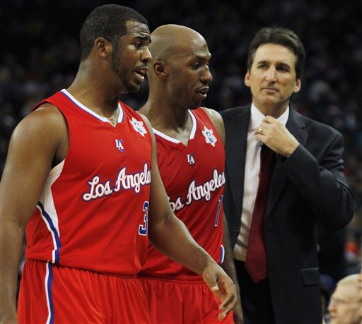 Chris Paul, Chauncey Billups, Vinny Del Negro