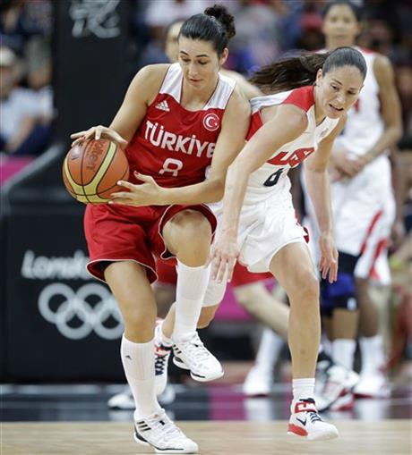 Sue Bird,  Tugce Canitez