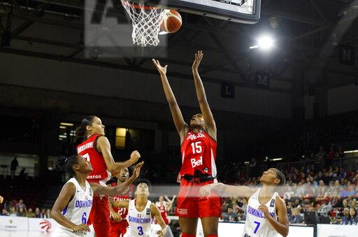 Dominican Republic Canada Basketball