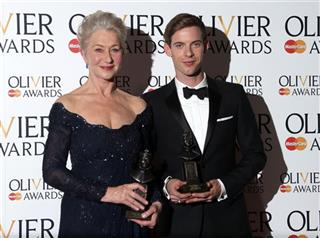 Helen Mirren and Luke Treadaway