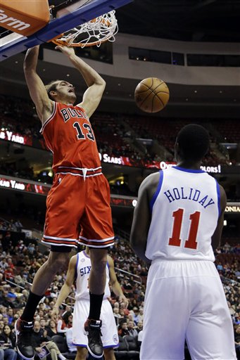 Jrue Holiday, Joakim Noah