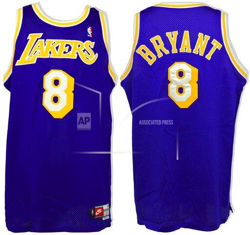 Kobe Bryant Memorabilia Featuring A Game-Worn Jersey Set To Be Auctioned