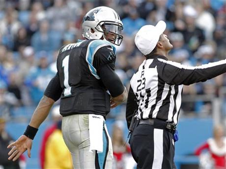 Jerome Boger, Cam Newton