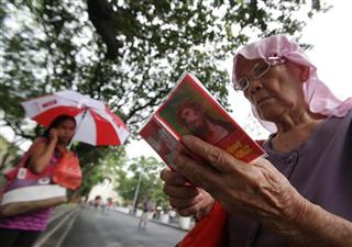 Philippines Pope Faithful