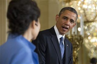Barack Obama, Park Geun-Hye