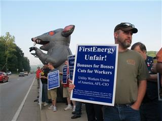First Energy Protest