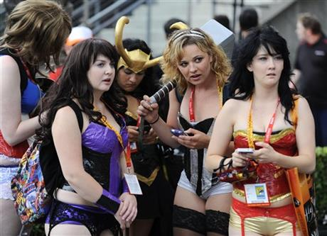 2012 Comic Con - Atmosphere