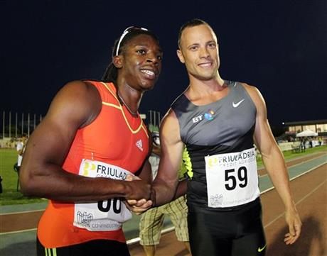 Oscar Pistorius, Calvin Smith
