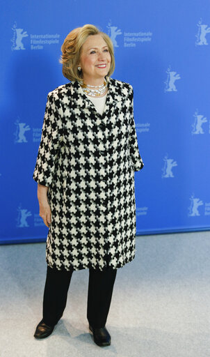 """Germany: """"Hillary"""" photo opportunity at Berlinale"""