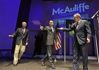 Terry McAuliffe, Mark Herring, Ralph Northam