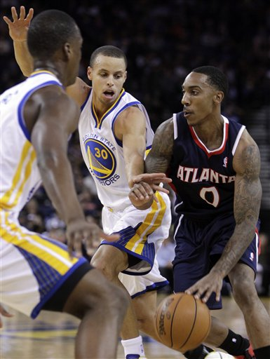 Jeff Teague, Stephen Curry