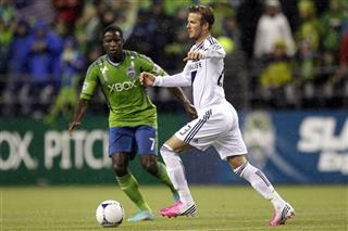 Eddie Johnson, David Beckham