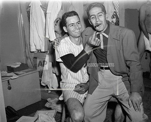 Watchf Associated Press Sports  New York United States APHS69132  Jerry Coleman                              Yankees