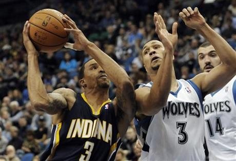 George Hill, Brandon Roy