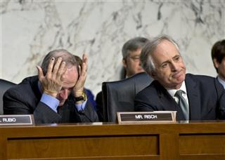 Bob Corker,  James Risch