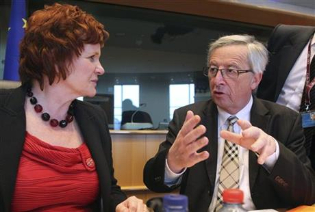 Jean-Claude Juncker, Sharon Bowles