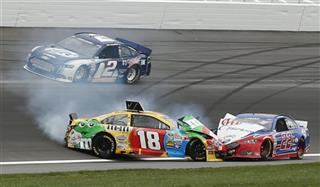 Kyle Busch, Joey Logano, Brad Keselowski