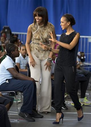 Michelle Obama, Kerry Washington