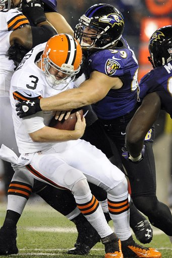 Brandon Weeden,  Paul Kruger