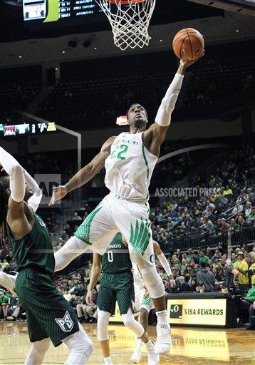 CalSports AP SPO MBB [Mikyle McIntosh] OR USA CSMAP NCAA Basket all 2017: Portland State vs Oregon DEC 13