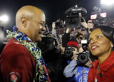Condoleezza Rice, David Shaw