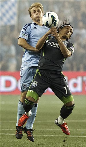 Sounders FC Sporting Kansas City Soccer