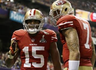 Michael Crabtree, Colin Kaepernick