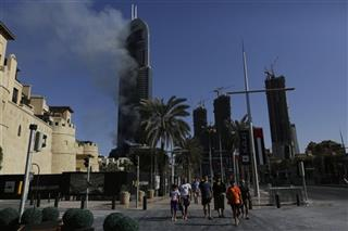 Mideast Emirates Fire