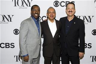 Tom Hanks, Courtney B. Vance, George C. Wolfe