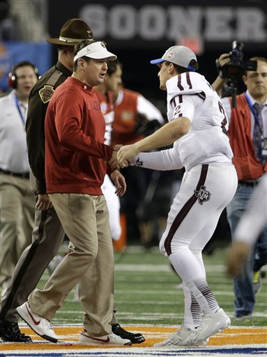 Bob Stoops, Johnny Manziel