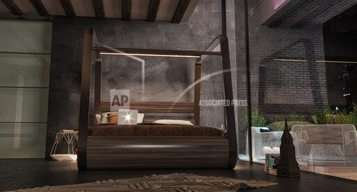 App-Enabled Smart Bed Has A Built-In Projector And Sound System Turning Your Bedroom Into A High-Tech Retreat
