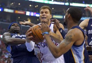 Blake Griffin,  Zach Randolph,  Mike Conley