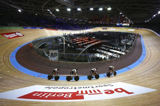 The UCI Cycling Track World Championships, Velodrom, Berlin, Ger