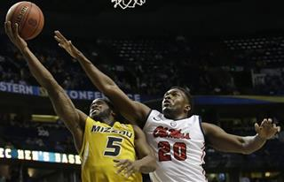 SEC Missouri Mississippi Basketball