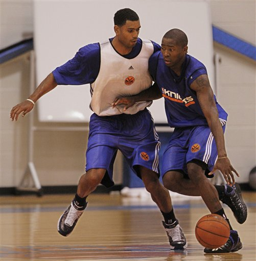 Allan Houston, Jamal Crawford