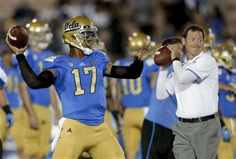 Brett Hundley, Jim Mora