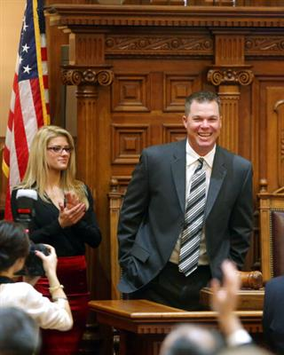 Chipper Jones Legislature Baseball