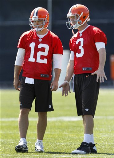 Brandon Weeden,  Colt McCoy