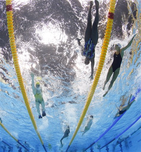 APTOPIX London Olympics Swimming