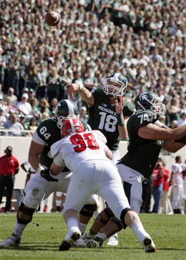 Connor Cook, Blake Treadwell, D.J. Moss