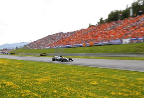 Austria F1 GP Auto Racing