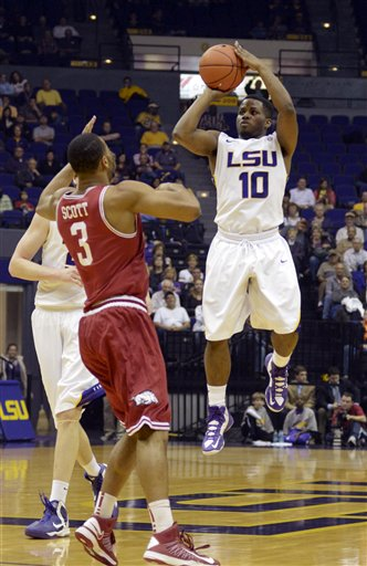 Arkansas LSU Basketball