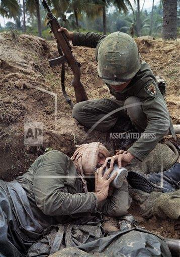 Watchf AP I   VNM APHS Vietnam War US Wounded