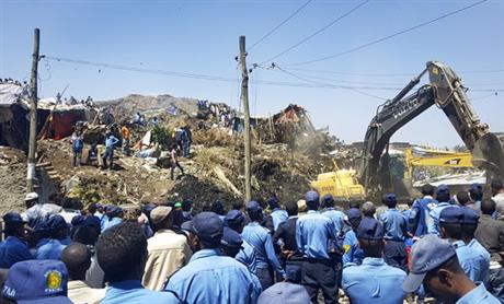 Garbage landslide kills at least 15 in Ethiopia