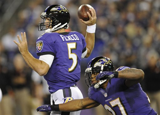 Ray Rice, Joe Flacco
