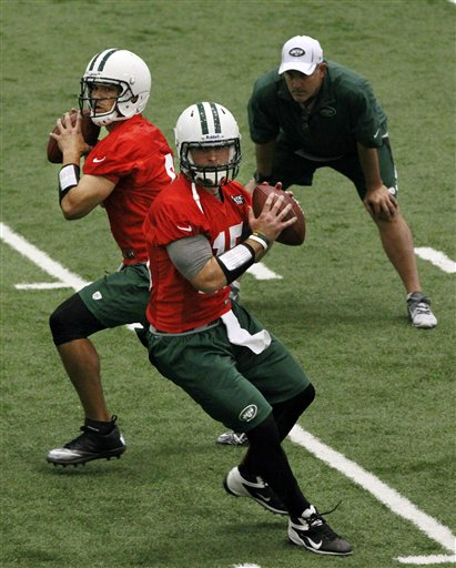 Matt Cavanaugh, Mark Sanchez, Tim Tebow