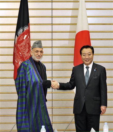 Hamid Karzai, Yoshihiko Noda 