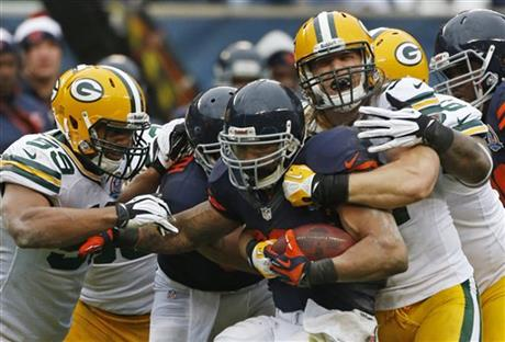 Matt Forte, Clay Matthews, Brad Jones