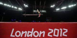 London Olympics Trampoline Women